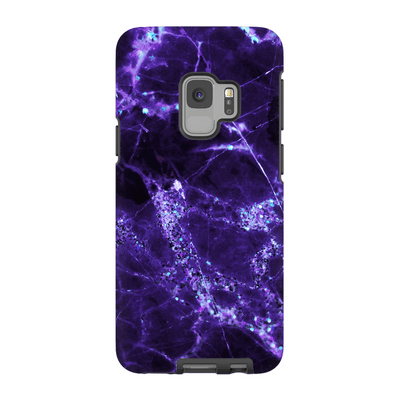 Midnight Purple Marble Galaxy S6-S9Plus