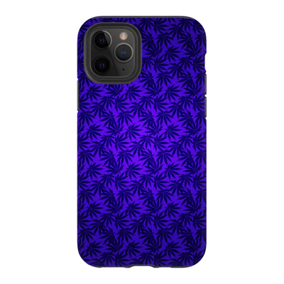 Purple Cannabis iPhone 11 Series Tough Case