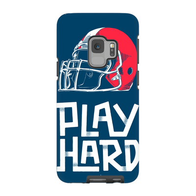Football Play Hard Galaxy S9 and S9 Plus Tough case