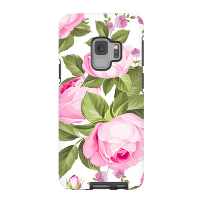 Pink Rose Medley Galaxy S6-S9+ Series