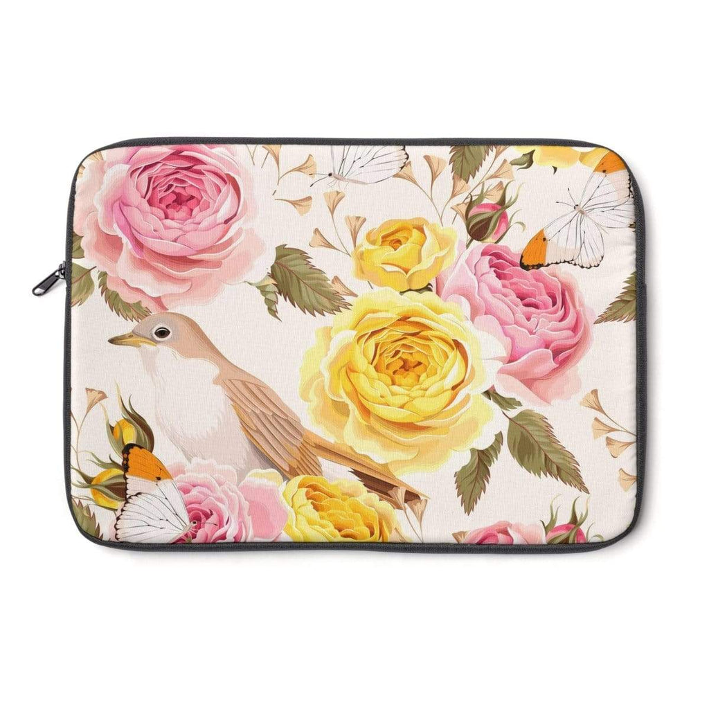 Yellow Rose Laptop Sleeve - Purdycase