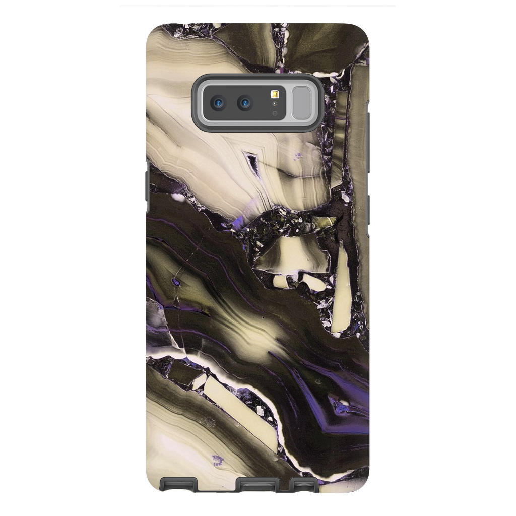Tan Cracked Marble Galaxy Note 8-10 Series - Purdycase