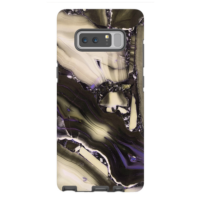 Tan Cracked Marble Galaxy Note 8-10 Series