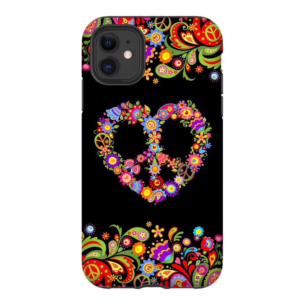60s Heart Flower iPhone 11 Series - Purdycase
