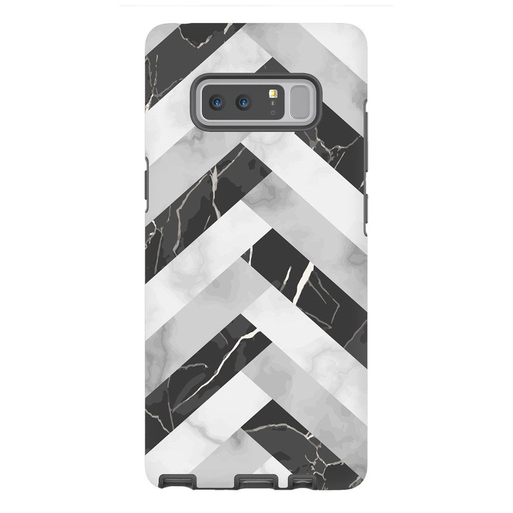 Abstract Grey Marble Galaxy Note 8 -10 Plus Series - Purdycase
