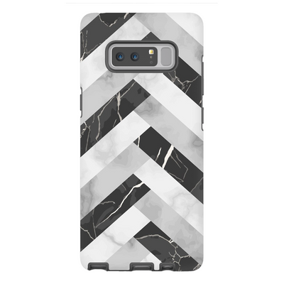 Abstract Grey Marble Galaxy Note 8 -10 Plus Series