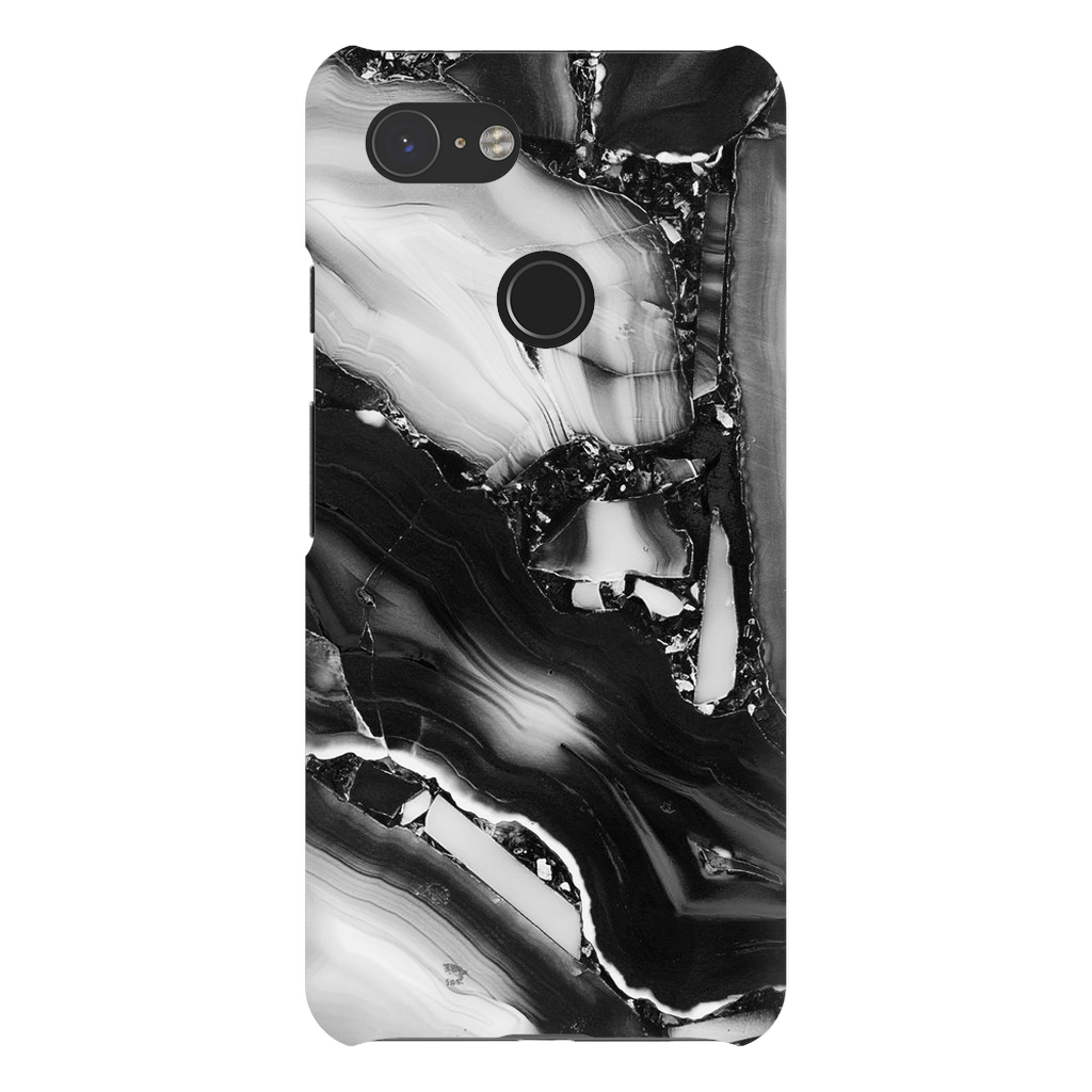 Grey Cracked Marble Google Pixel X-3XL Series - Purdycase