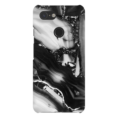 Grey Cracked Marble Google Pixel X-3XL Series