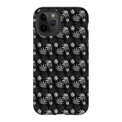Black  Cannabis iPhone 11 Series Tough Case