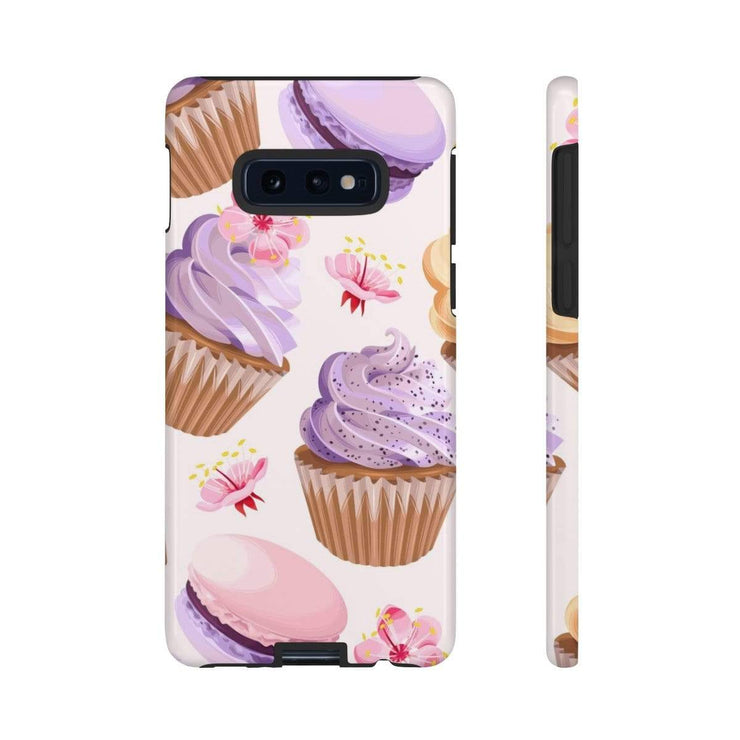 Purple Cupcake Galaxy 10 Series Tough Case - Purdycase