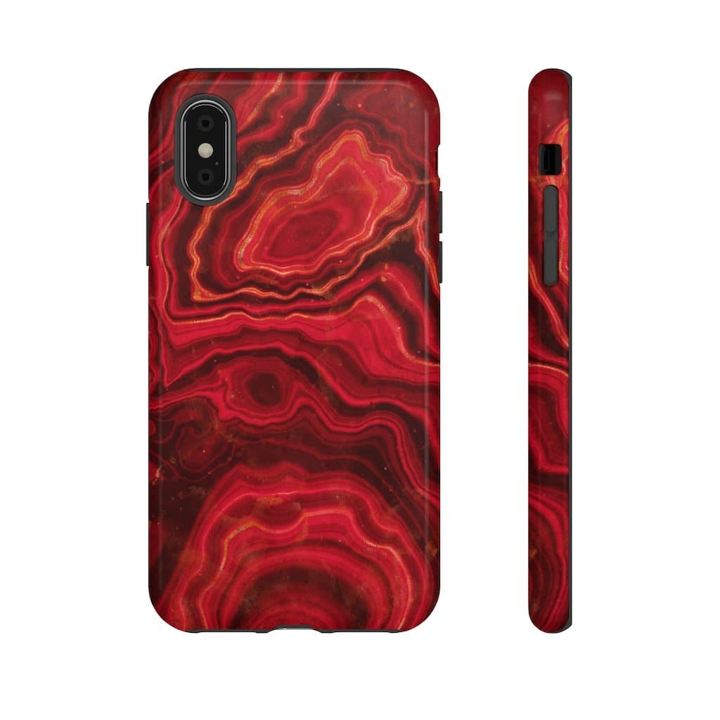 Red Abstract iPhone X-XS Max Series - Purdycase