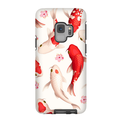Japanese Red Koi Galaxy S6-S9 Plus Series
