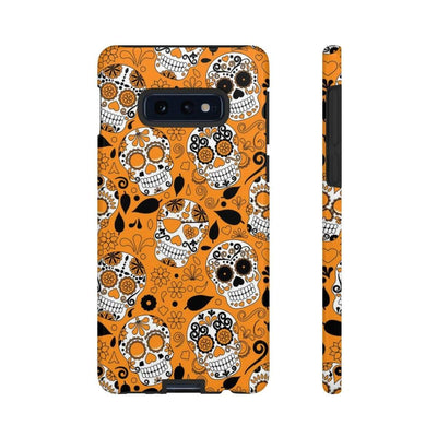 Orange Juice Skull Galaxy 10 Series Tough Case - Purdycase