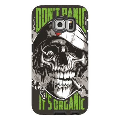 Smoking Skull Galaxy S6 Edge and S6 Edge Plus