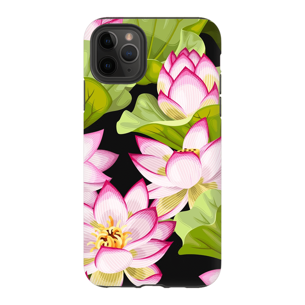 Pink Lotus iPhone 11 Series - Purdycase