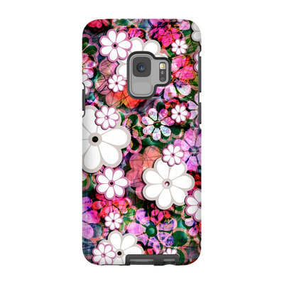 Psychedelic Floral Galaxy S6-S9 Plus Series