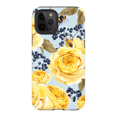 Vintage Yellow Rose iPhone 11 Series - Purdycase
