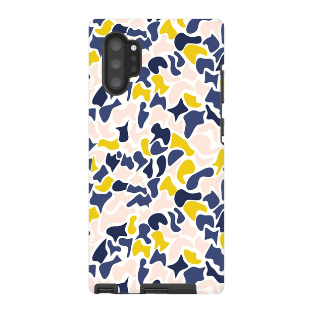 Terrazzo Yellow Speckle Galaxy Note 10 and 10 Plus Tough Case