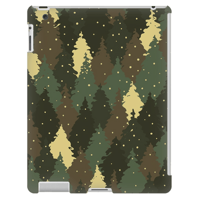 Forest Camo iPad 3/4 Mini, Tablet Case