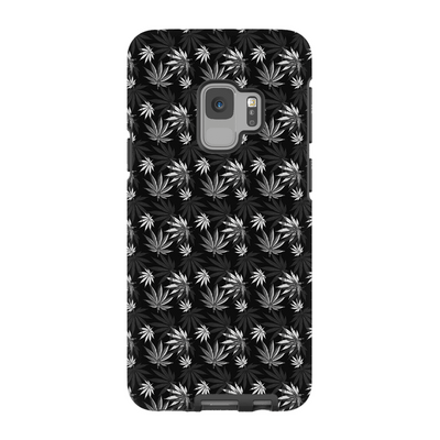 Black Cannabis Galaxy 6-9 Series Tough Case