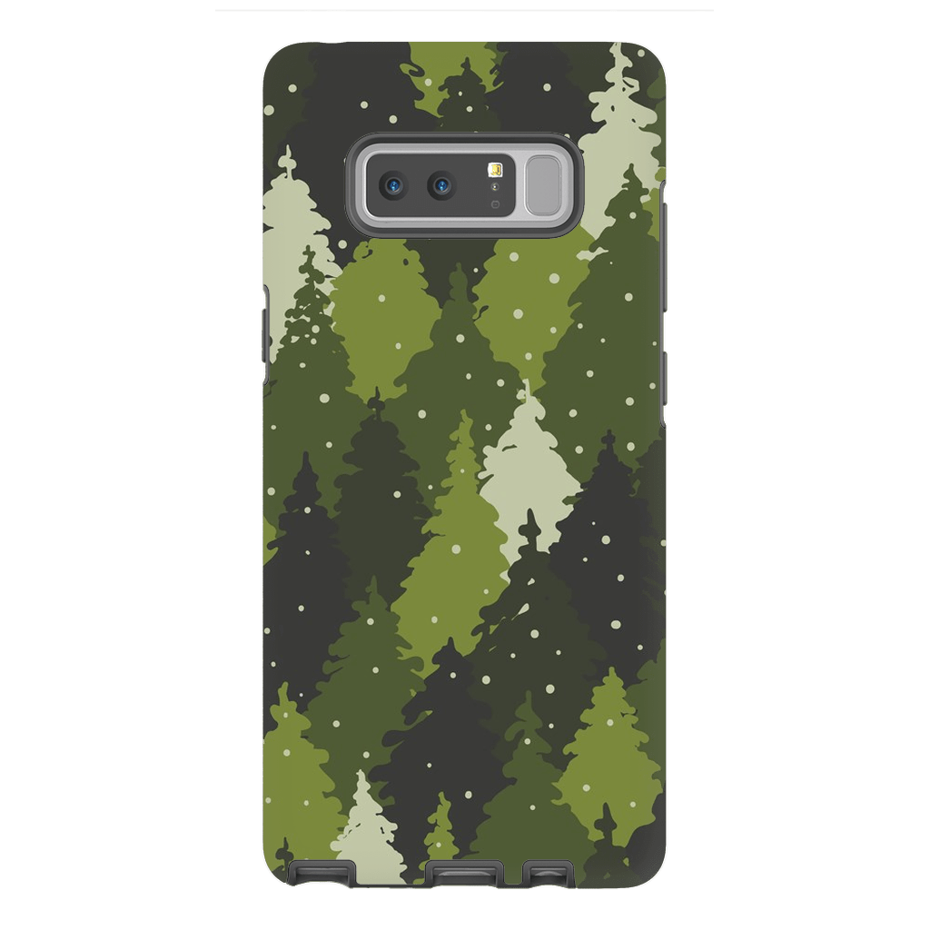 Forest Green Camo Galaxy Note 8 and 9 - Purdycase
