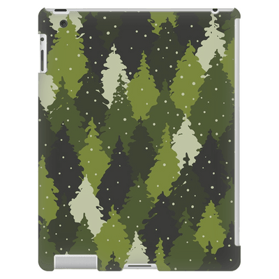 Forest Green Camo iPad 3/4 Mini, Tablet Case