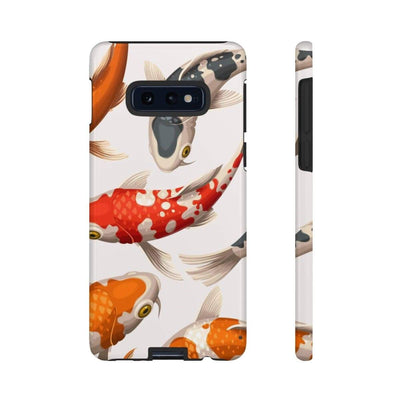 Koi White Galaxy 10 Series Tough Case