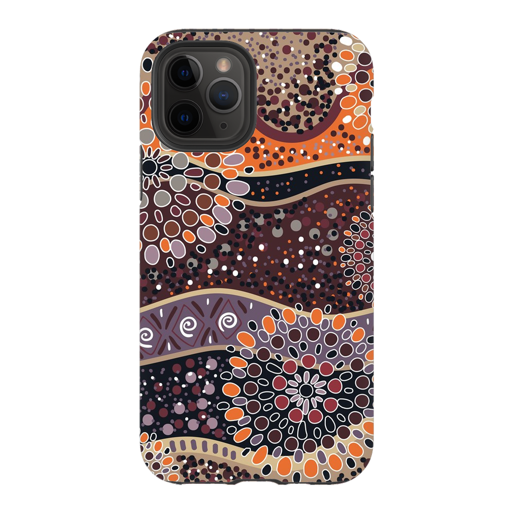 Brown Mandala iPhone 11 Series - Purdycase