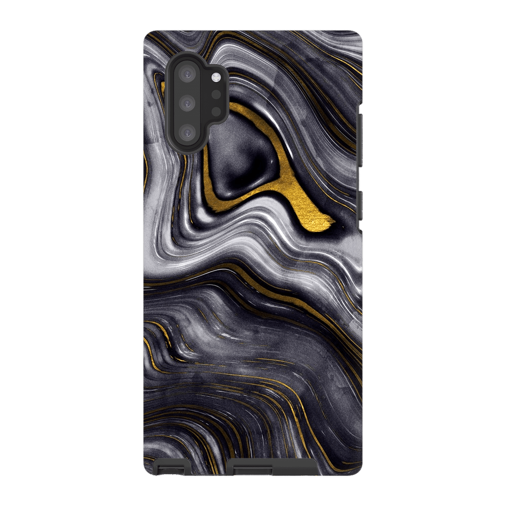 Abstract Gold Galaxy Note 10 and 10 Plus - Purdycase