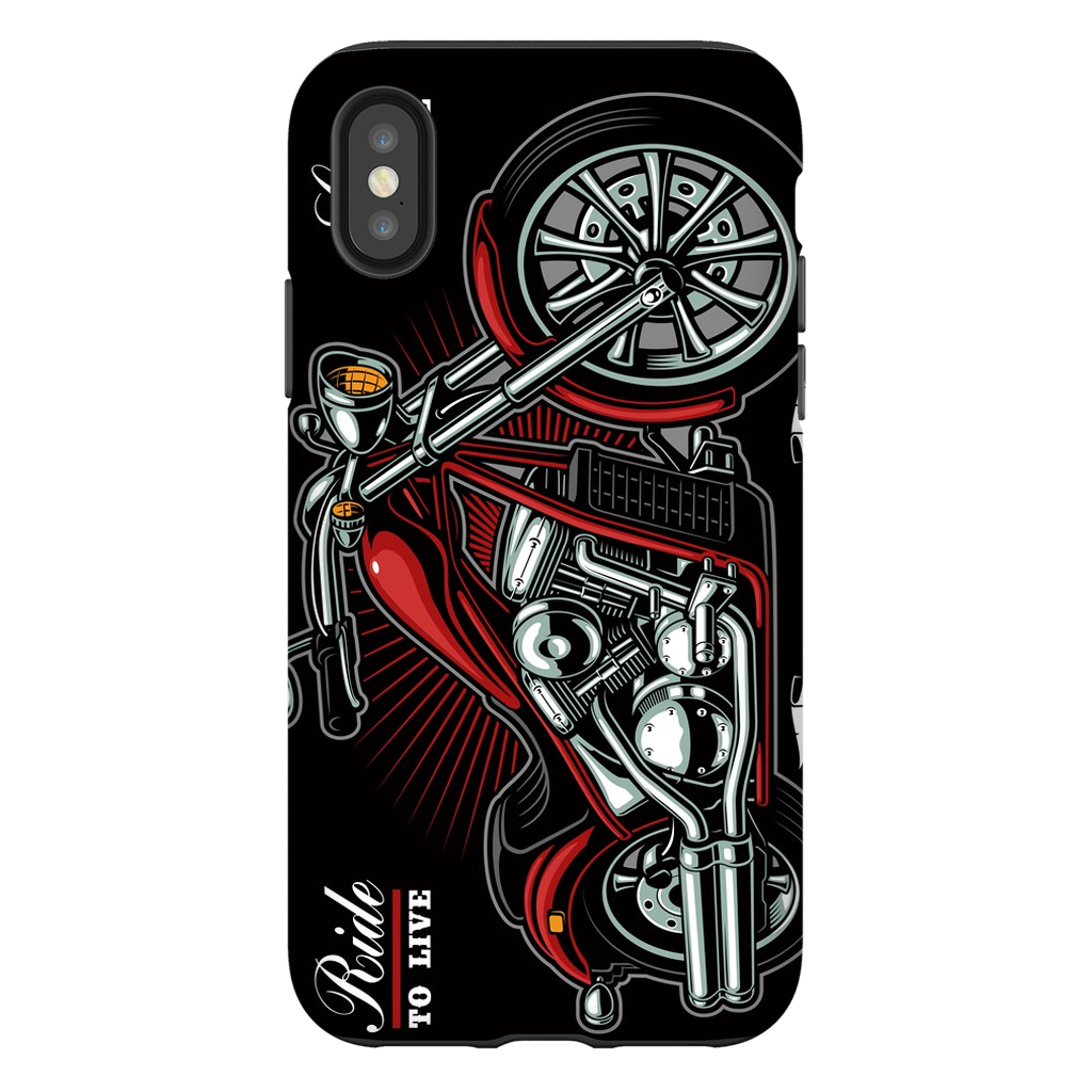 Ride to Live Motorcycle iPhone X-XS Max Series - Purdycase