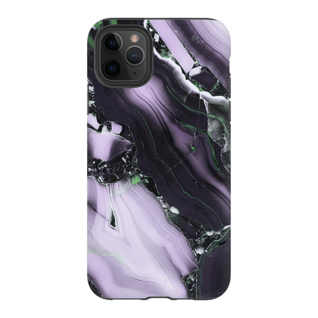 Purple Black Marble iPhone 11 Series - Purdycase