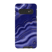Blue Gold Agate Galaxy S10 Series