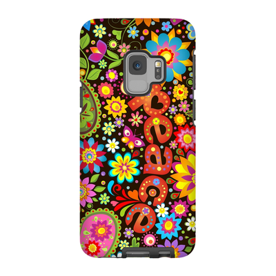 60s Flower Power Galaxy S6-S9 Plus Series