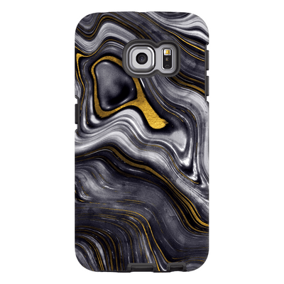 Gold Drizzle Galaxy S6 Edge and S6 Edge Plus Tough Case - Purdycase