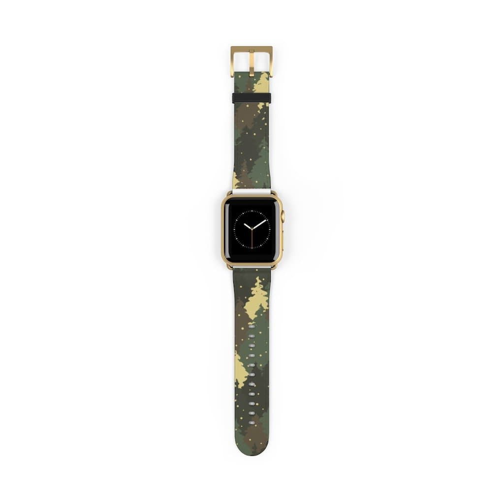 Forest Green Camo Apple Watch Band - Purdycase