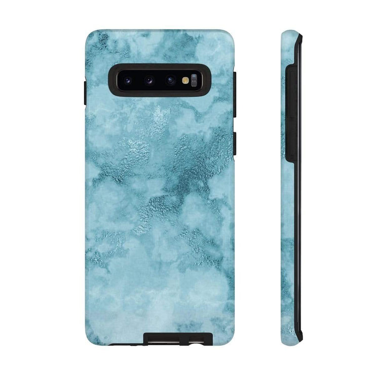 Teal Marble Galaxy 10 Series Tough Case - Purdycase
