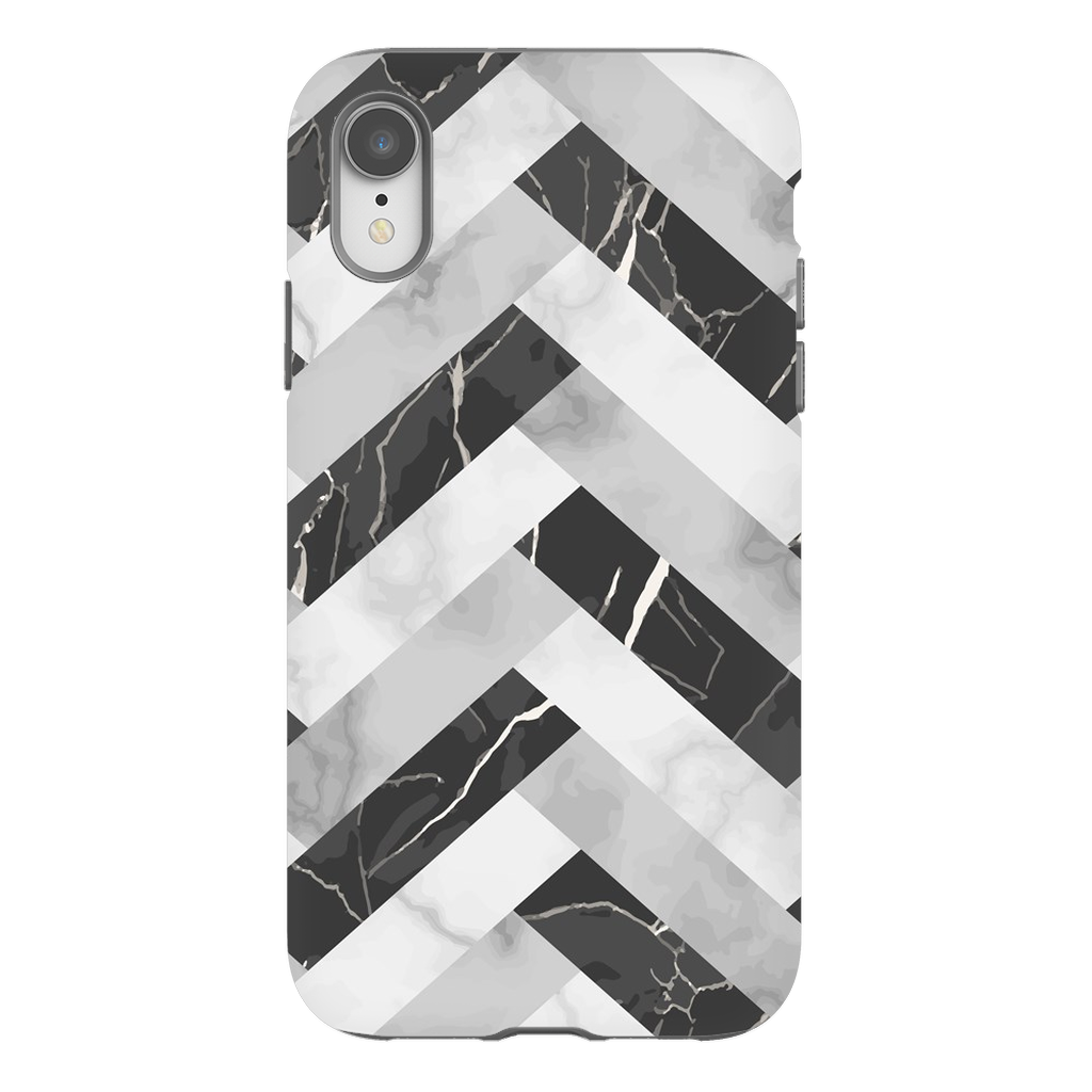 Abstract Grey Marble iPhone X-XS Max Series - Purdycase