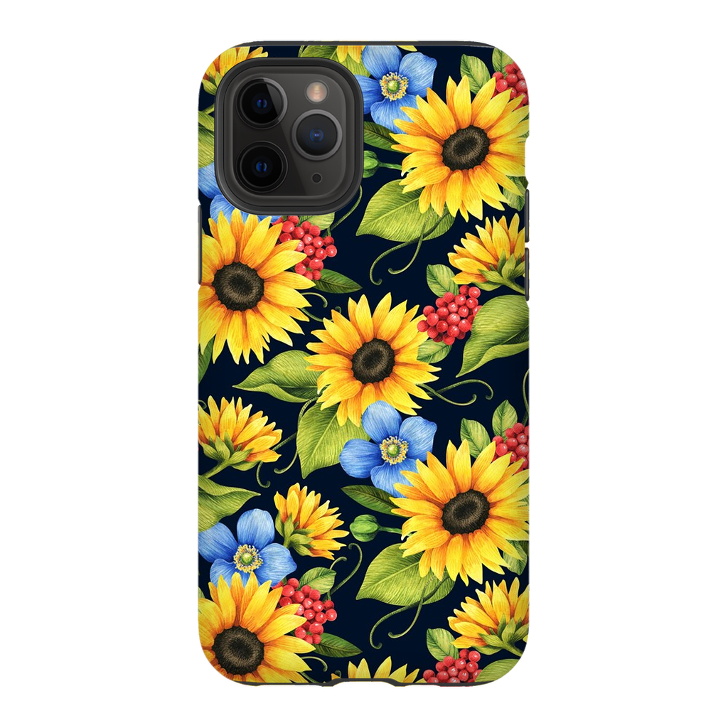 Sunflower Blue iPhone 11 Series - Purdycase