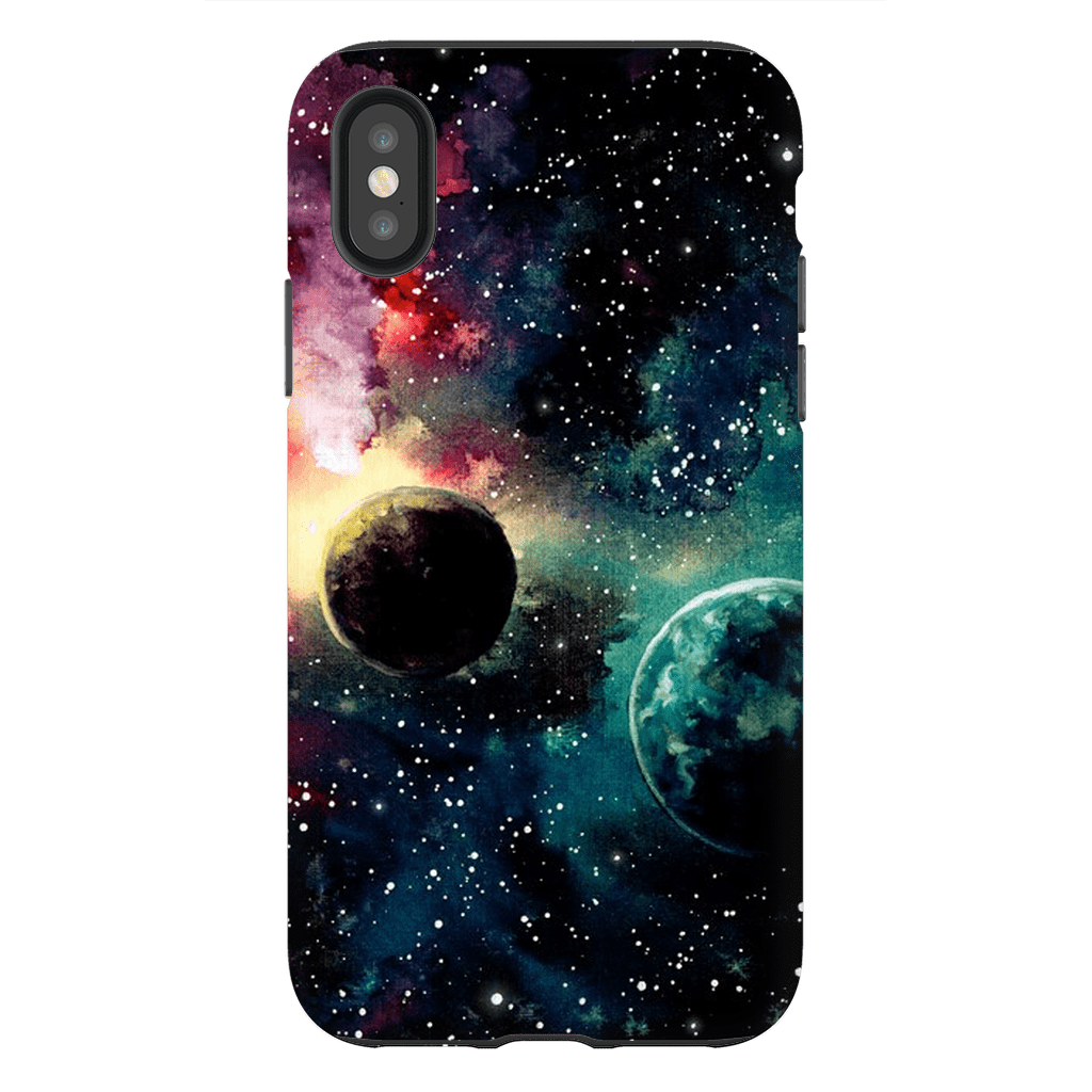 Space Planets iPhone X-XS MaX Tough Case - Purdycase