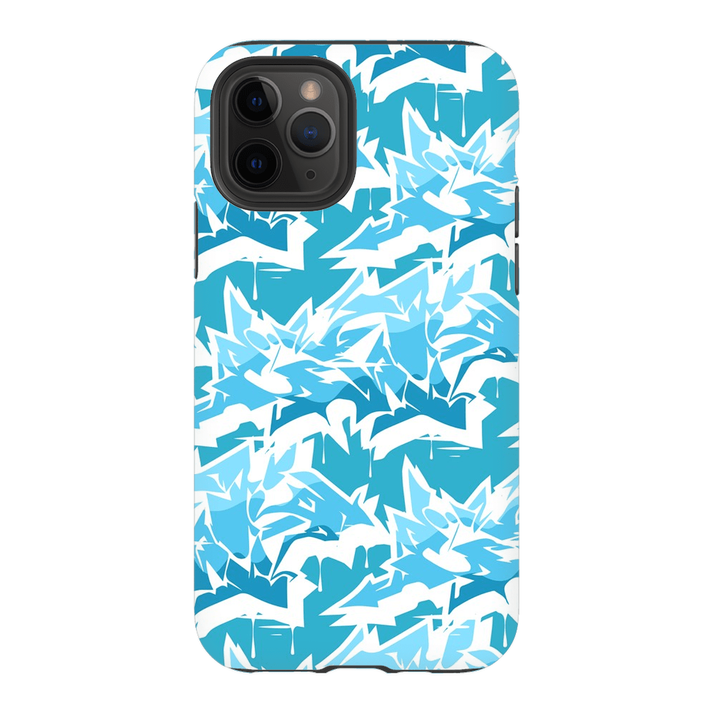 Turquoise Graffiti iPhone 11 Series - Purdycase