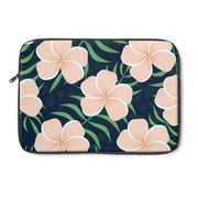 Plumeria Flower Laptop Sleeve  - Purdycase
