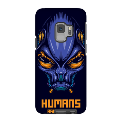 Purple Alien Galaxy S6 - S9 Plus Series