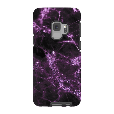 Midnight Plum Marble Galaxy S6-S9Plus Series