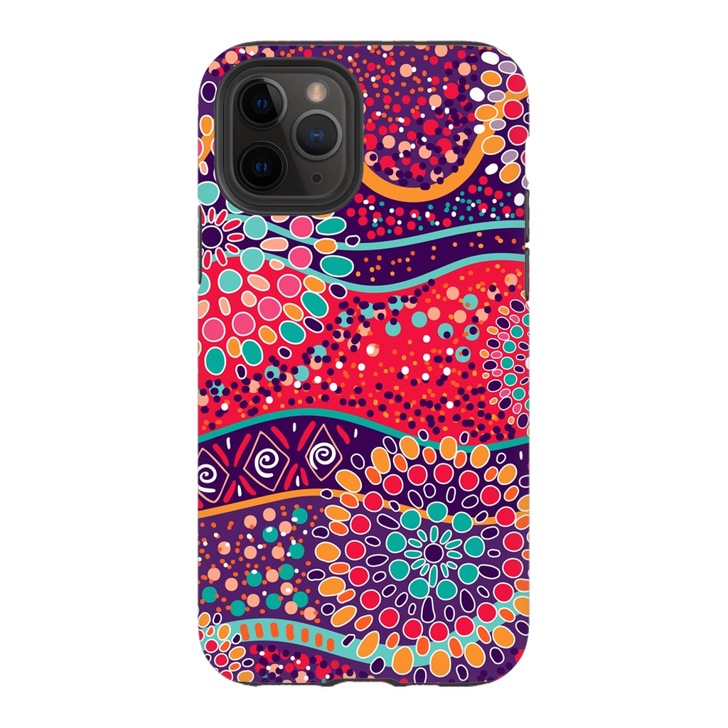 Red Mandela iPhone 11 Series - Purdycase