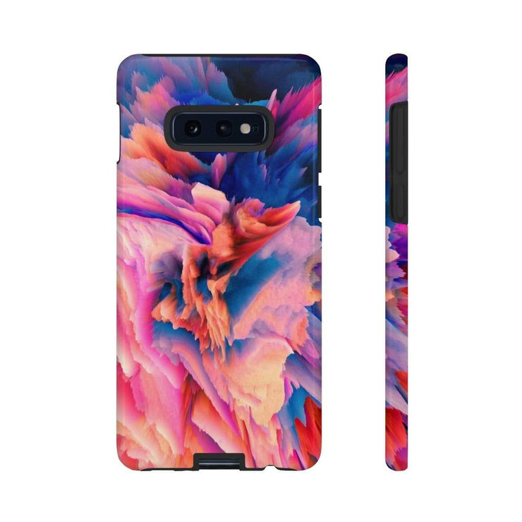 3D Abstract Pink Blue Galaxy 10 Series Tough Case - Purdycase