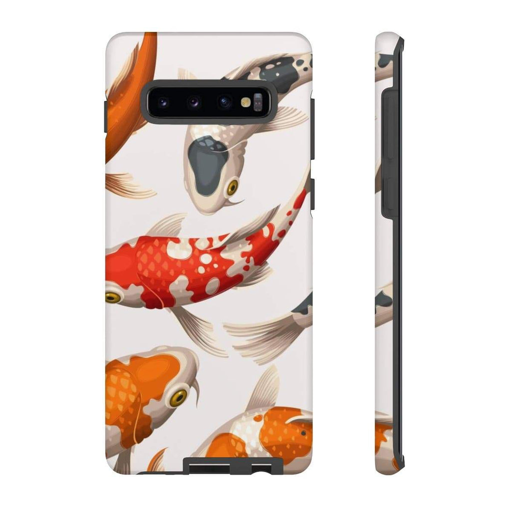 Koi White Galaxy 10 Series Tough Case - Purdycase