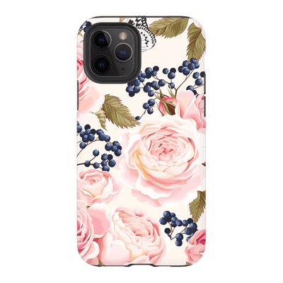 Vintage Pink Rose iPhone 11 Series - Purdycase