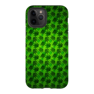 Green Cannabis iPhone 11 Series Tough Case