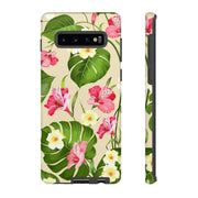 Tropical Leaves Galaxy 10 Series Tough Case - Purdycase