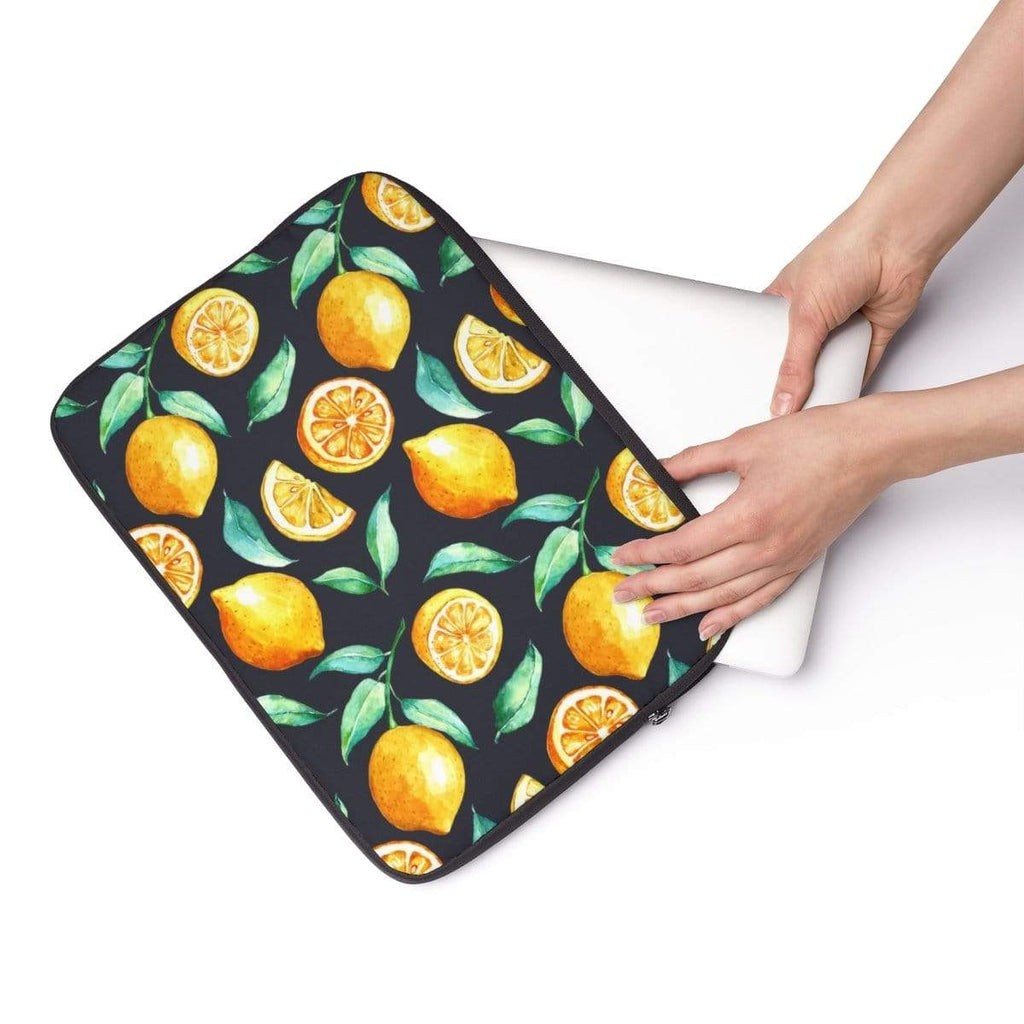 Lemon Slices Laptop Sleeve - Purdycase